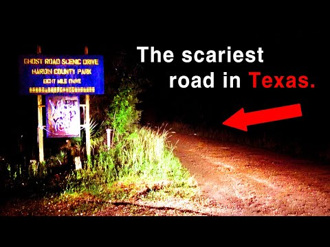 The Scariest Haunted Road In Texas