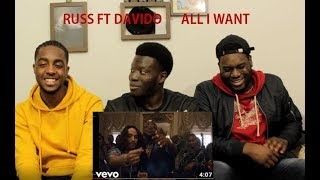 Russ   All I Want (Feat. Davido) (Official Video) [REACTION]