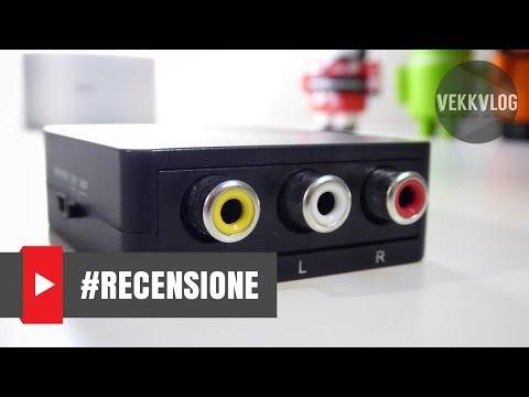 Come convertire un uscita AV in HDMI - Guida Tutorial in ITALIANO