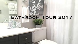 Bathroom Decorating Ideas & Tour on a budget