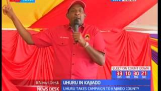 Jubilee leaders address Kajiado residents