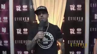 Nicky Jam  Vin Diesel at E11EVEN MIAMI