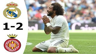 La Liga L Real Madrid Vs Girona (1-2) Goals & Highlands