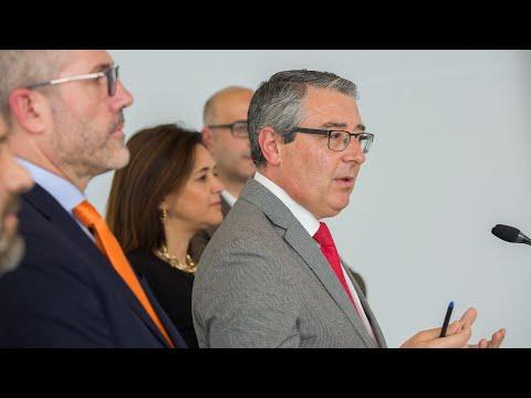 Presentación del presupuesto 2020 de la Diputación de Málaga