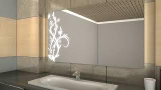 Badspiegel mit LED Beleuchtung - Jutis