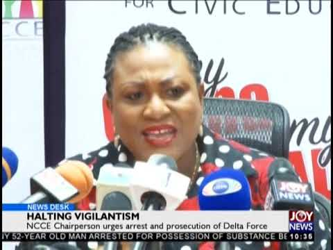 Halting Vigilantism - News Desk on JoyNews (9-10-18)