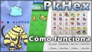 Qué Es PkHex Y Cómo Funciona [Crear Pokémon 6ta Generación] Ditto 6 Iv's Pokémon De Eventos