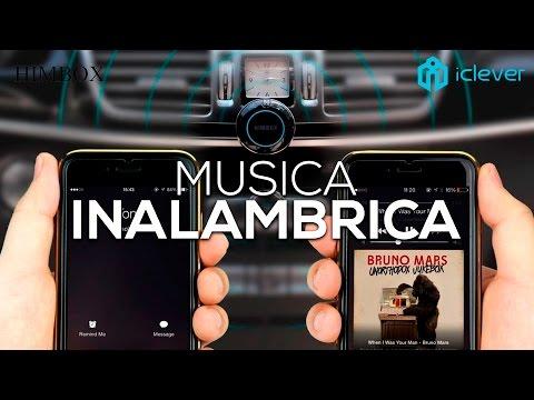 Manos Libres Bluetooth + Música Inalámbrica