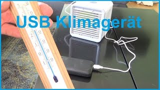 USB Arctic Air Cooler Klimagerät für 20 Euro was taugt es? Klimaanlage Test