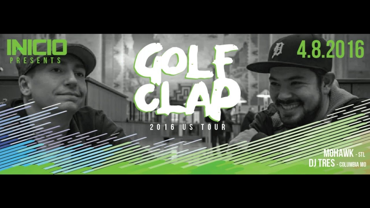 Golf Clap - Live @ Upstairs Lounge, Inicio, St.Louis, MO 2016