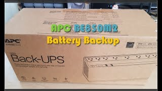 APC BE850M2 UPS Battery Backup and Surge Protector Unboxing