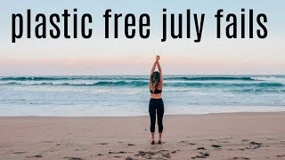 I TRIED LIVING PLASTIC FREE FOR 30 DAYS | #plasticfreejuly