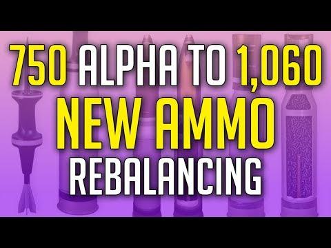 NEW Ammo Alpha Damage Rebalance is Here! ► World of Tanks SandBox Test Server