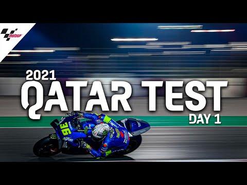 MotoGP 2021カタールテスト 初日のハイライト動画