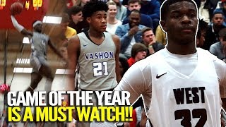 EJ Liddell And Cam'Ron Fletcher SHUT TWO STATES DOWN For MATCHUP OF THE YEAR!!!