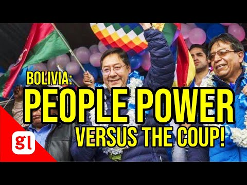 Fred Fuentes: PEOPLE POWER versus the coup in Bolivia