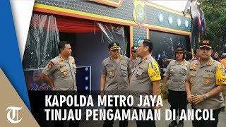 Kapolda Metro Jaya Tinjau Pengamanan Libur Lebaran di Ancol