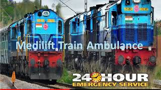 Medilift Train Ambulance from Patna to Delhi - the Cost-Effective Method