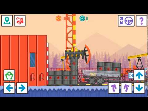 Best Trucker Lite game transports oil to the refinery