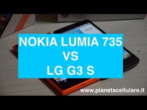 Nokia Lumia 735 vs LG G3S (LG G3 Mini)