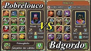 Pobrelouco VS Bdgordo - Warspear Online