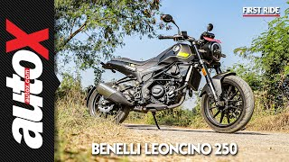Benelli Leoncino 250 First Ride Video Review