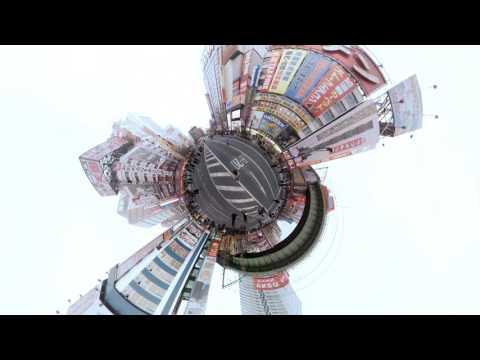 カメラ6台でおもしろ映像体験!? - 360度動画「Crossing Tokyo」: 東京工科大学 メディア学部 ブログ