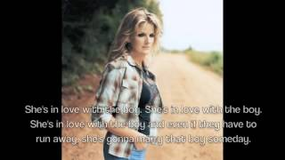 Trisha Yearwood-She's In Love With The Boy Lyrics