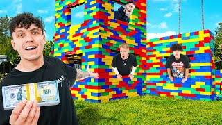 LAST TO LEAVE LEGO HOUSE WINS $10,000