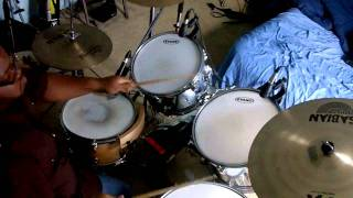 Anthony Evans - Here I Am To Worship (Drum Cover)