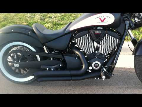 2012 Victory High Ball with Bassani Exhaust