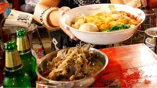 Epic THAI STREET FOOD at BANGKOK NIGHT MARKET- Rot Fai Market 2 | Food and Travel Channel | Thailand