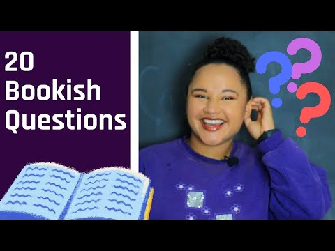 Let's Play 20 Bookish Questions || TAG