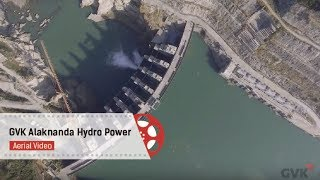 GVK Alaknanda Hydro Power project | Aerial Video