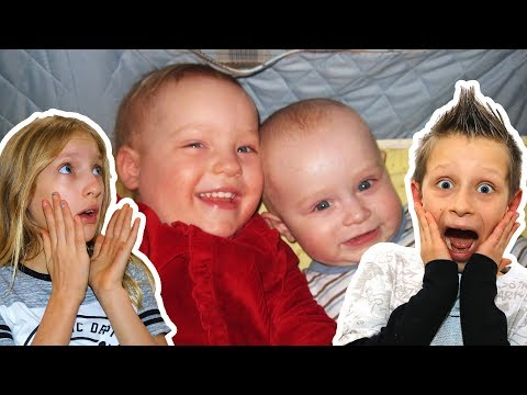 Reacting to Old Baby Videos!!!