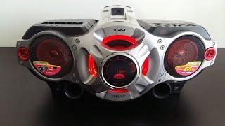 Manutenção do tape deck do Sony Xplod CFD-RG880CP