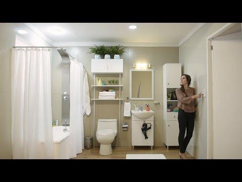 Aprende cómo iluminar correctamente el baño