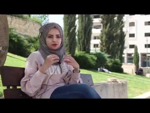 الطالبة نور ابو سباع - الاولى على دفعة سنة رابعة صيدلة