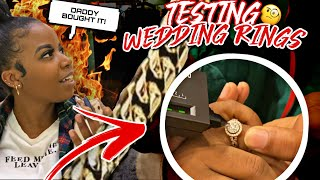 TESTING STRANGERS DIAMONDS 💍💎 WEDDING RINGS EDITION | PUBLIC INTERVIEW