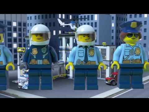 Vidéo LEGO City 60141 : Le commissariat de police