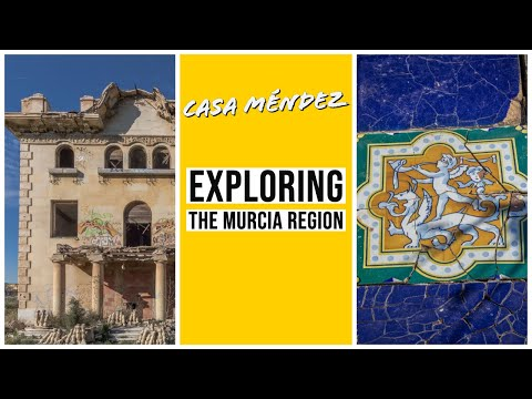 Abandoned Casa Méndez  Villa Rosalía Librilla Murcia Spain #expatinmazarron