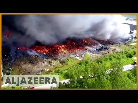 🇨🇳 Global waste industry rocked by China import ban | Al Jazeera English