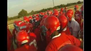 Carter High School football team meets for first day of practice