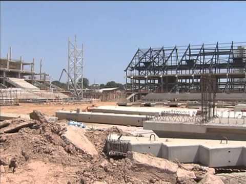 Sustentabilidade é uma das marcas nas obras da Arena Pantanal, em Cuiabá
