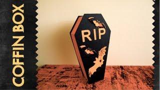Halloween serie - coffin box