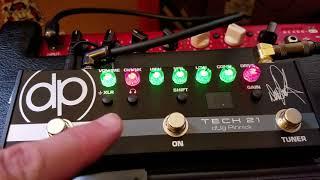 Tech 21 Dug Pinnick pedal demo
