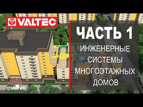 Инженерные системы многоэтажных жилых домов - часть 1