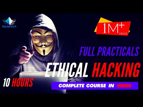 Ethical Hacking Full Course - Learn Ethical Hacking in 10 Hours 🔥[hindi] | Ethical Hacking Tutorial