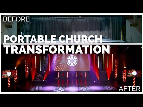 Transformation and Behind The Scenes of Piedmont Chapel | Portable Church
