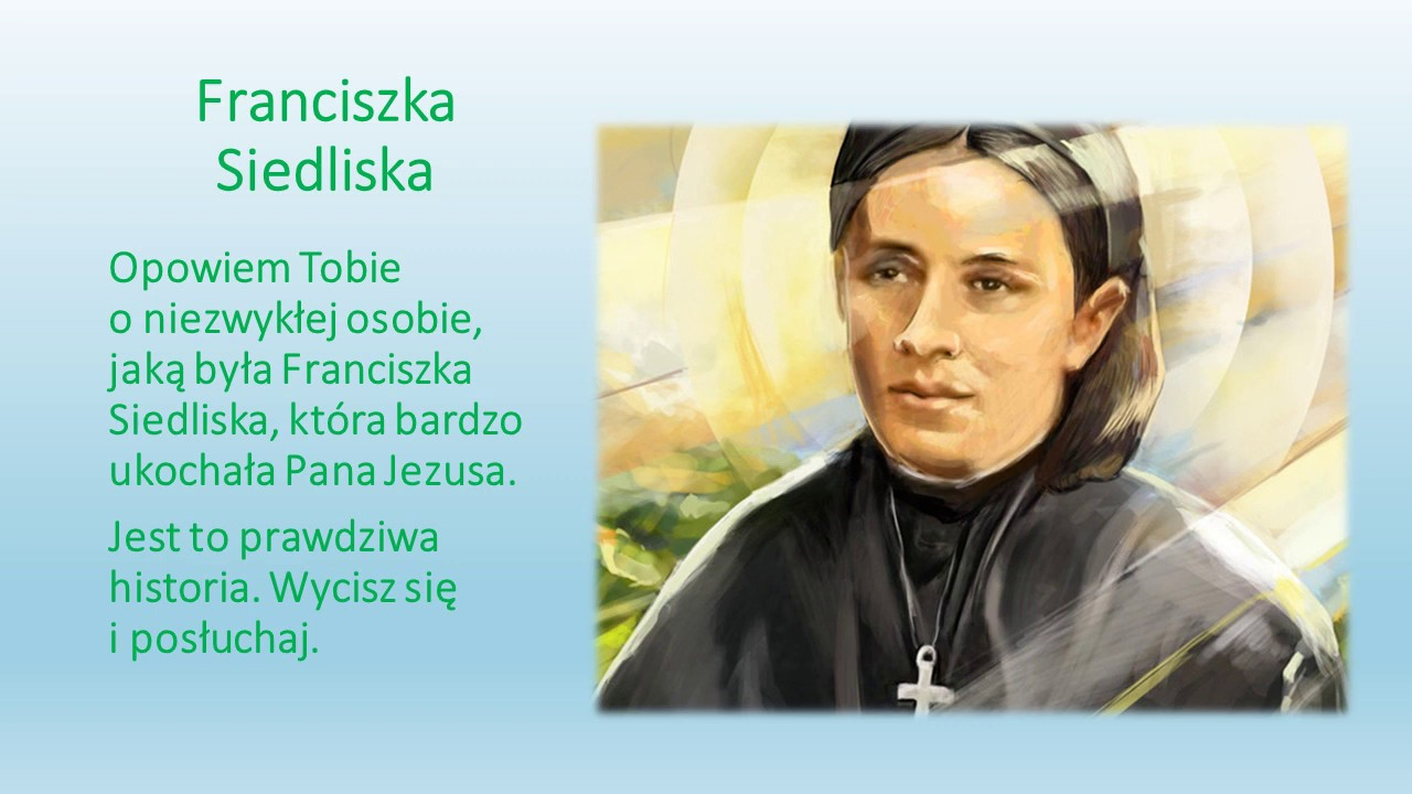Patronka Niepublicznego Przedszkola Katolickiego im.bł.Franciszki…